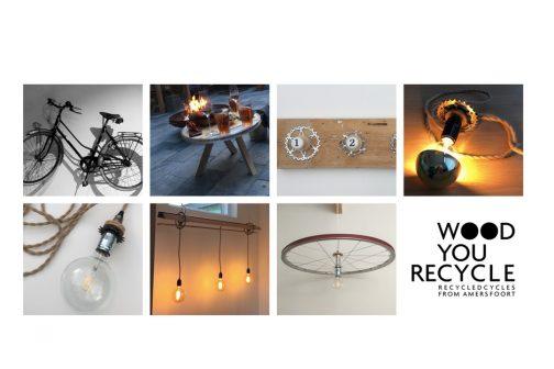 WOOD you reCYCLE maakt van gebruikte fietsonderdelen woonproducten